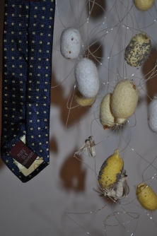 detail (Pure silk- Hand Made)