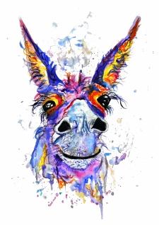 Donkey A3 Print copy 100