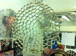 Live dream Catcher installation structure