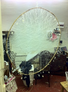 Giant Dream Catcher Web 'Sacrifice' (Silk Web)