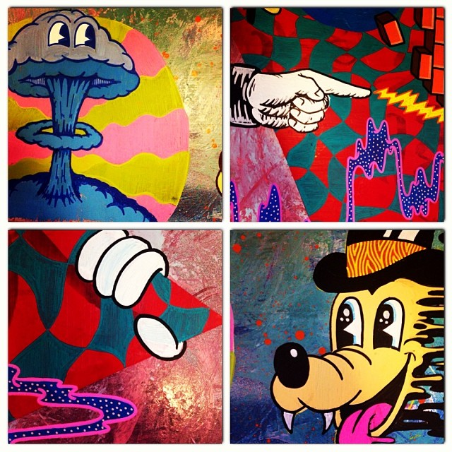 Instagram media finch_arts - Little collage of sections #illustration #cartoon #art #graffiti #canvas #artist #streetart #instaart #instagraff #painting #finchart